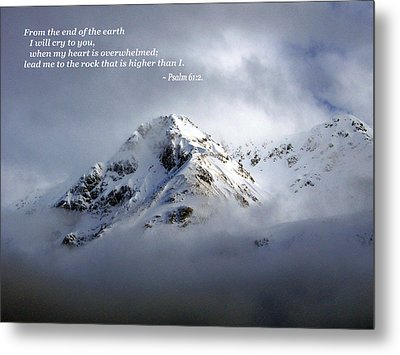 Metal Print featuring the photograph You Are God by Allen Beilschmidt