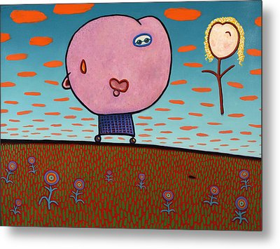 You Are My Sunshine Metal Print by James W Johnson