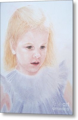 Metal Print featuring the painting You Are Special by Mary Lynne Powers