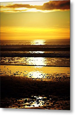 You Are The Salt Of The Earth And The Light Of The World Metal Print by Sharon Soberon