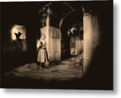 You Ask The Question Maybe I Will Give The Answer Metal Print by Bob Orsillo