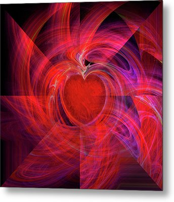 You Make My Heart Beat Faster Metal Print by Michael Durst