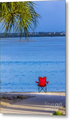 You Should Be Here Metal Print by Marvin Spates
