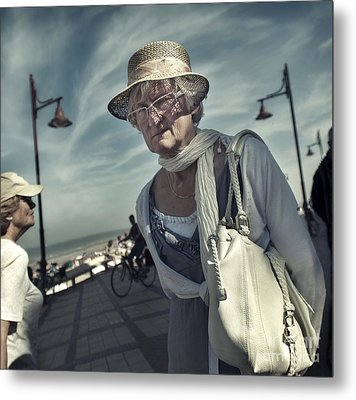 Young At Heart Metal Print by Michel Verhoef