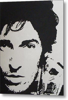 Young Boss Metal Print by ID Goodall