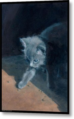 Young Explorer Metal Print by Diana Moses Botkin