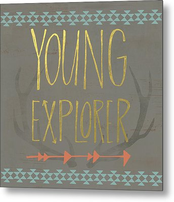 Young Explorer Metal Print by Katie Doucette