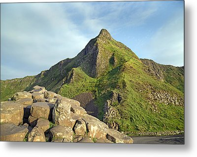 Young -- Giant's Causeway -- Ireland Metal Print