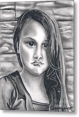 Young Girl- Shan Peck Contest Metal Print