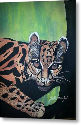 Young In Wild Metal Print by Joetta Beauford