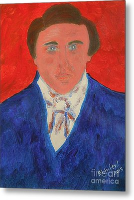 Young Joseph Smith Junior 1 Metal Print by Richard W Linford