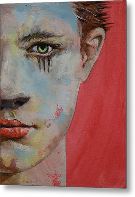 Young Mercury Metal Print by Michael Creese