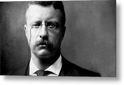 Young Theodore Roosevelt Metal Print by Bill Cannon