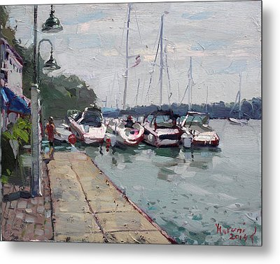 Youngstown Yachts Metal Print