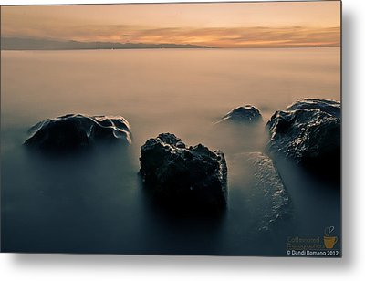 Your Life Is An Island Metal Print by Mario Dandi Romano