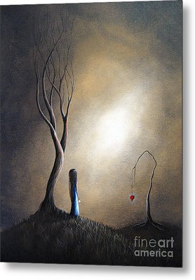 Your Memory Lives On In Me By Shawna Erback Metal Print