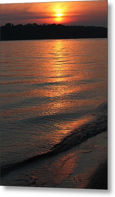 Your Moment Of Zen Metal Print by Julie Andel