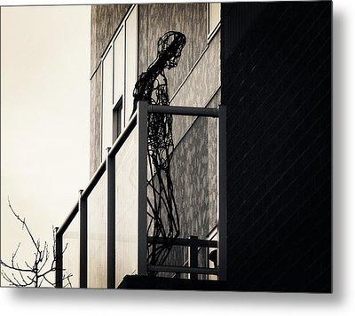 Your Own Cage Metal Print by Zinvolle Art