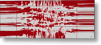 Your Thoughts Are Feeding His Soul  Metal Print by Sir Josef - Social Critic -  Maha Art