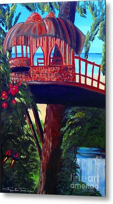 Your Tree House Metal Print