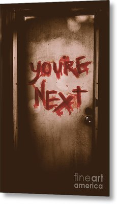 You're Next Metal Print by Jorgo Photography - Wall Art Gallery