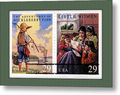Youth Classics Stamps Metal Print
