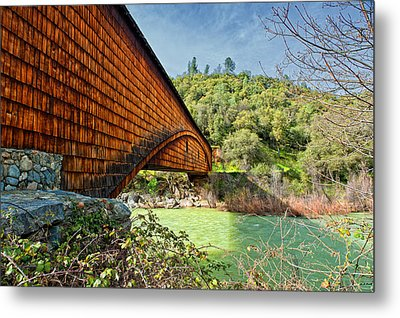Metal Print featuring the photograph Yuba State Park by Jim Thompson