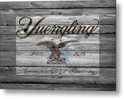 Yuengling Metal Print by Joe Hamilton