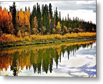 Yukon Autumn Metal Print