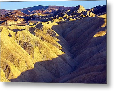 Zabriski Point #2 Metal Print by Stuart Litoff