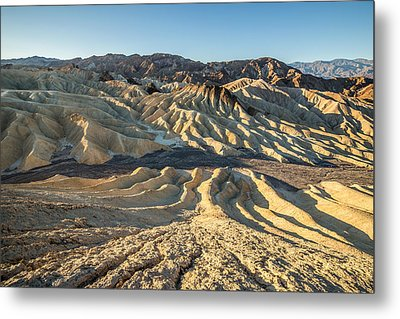 Zabriskie Point Spectacular Mountains  Metal Print by Pierre Leclerc Photography
