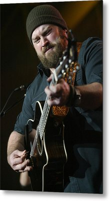 Zac Brown Band Metal Print by Don Olea