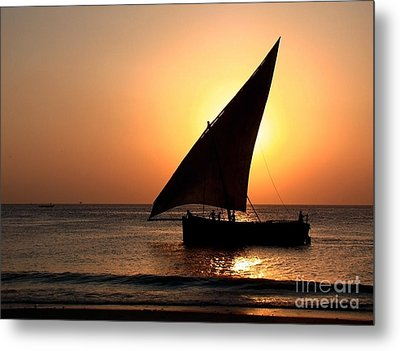 Zanzibar Sunset 22 Metal Print by Giorgio Darrigo