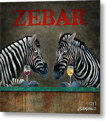 Zebar... Metal Print by Will Bullas
