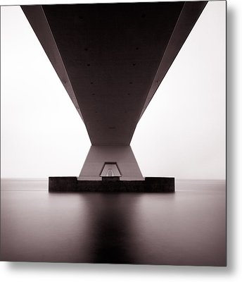 Zeelandbrug 1 Metal Print by Dave Bowman