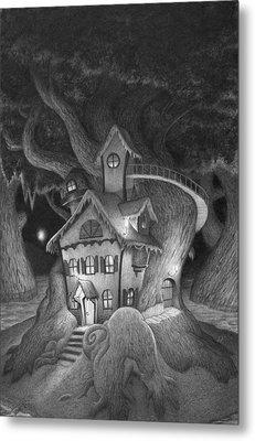 Zelma's House Metal Print by Richard Moore