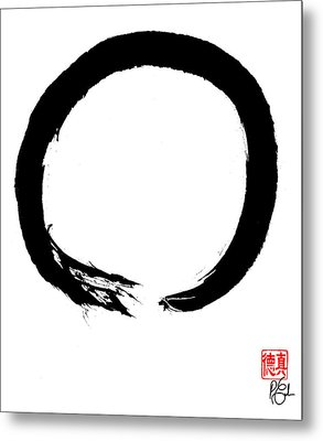 Zen Circle Four Metal Print
