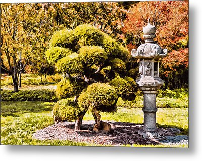 Metal Print featuring the photograph Zen Garden by Anthony Citro