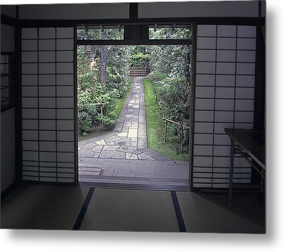 Zen Tea House Dream Metal Print by Daniel Hagerman
