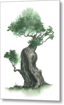 Zen Tree 1000 Metal Print