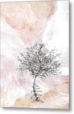 Zen Tree 2 Metal Print by Klara Acel