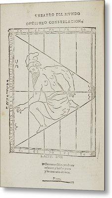 Zepheo Star Constellation Metal Print by British Library