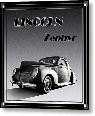 Zephyr Metal Print by Douglas Pittman
