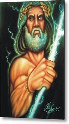 Zeus Metal Print by Christopher Fresquez