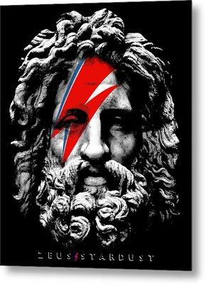 Zeus Stardust Metal Print