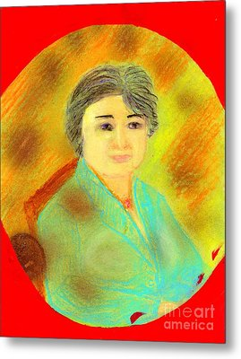 Zhang Yin Queen Of Containerboards Great Chairwoman Of Nine Dragons Paper Industries Metal Print by Richard W Linford