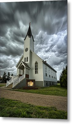 Zion Luthern Church Metal Print