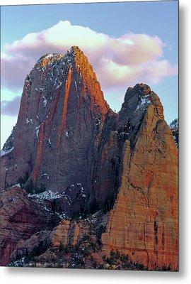 Zion National Park , Utah Metal Print