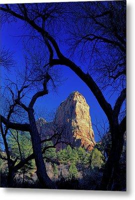 Zion National Park, Utah Metal Print by Scott T. Smith