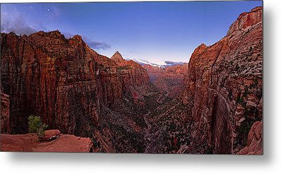 Zion's Twilight Metal Print